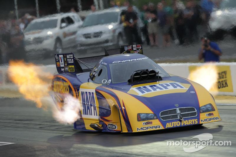Ron Capps Saturday Qualifying at Topeka