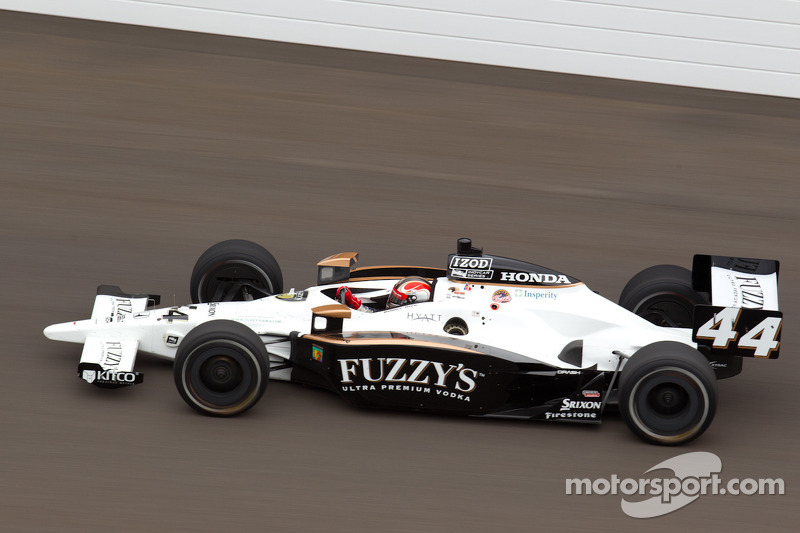 Panther Racing Indy 500 Carb Day Report