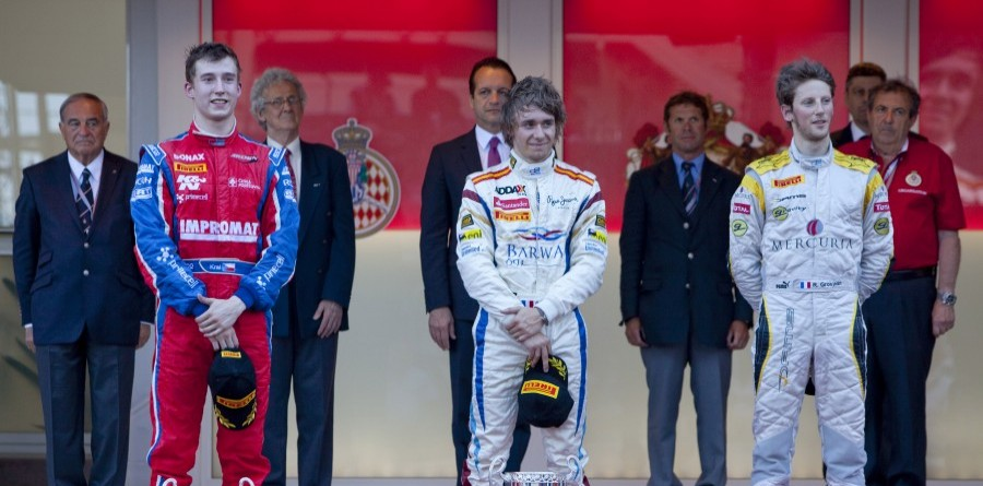 GP2 Series Monaco Race 2 Podium Quotes