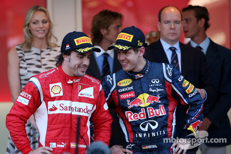 Vettel on track for second title - Alonso