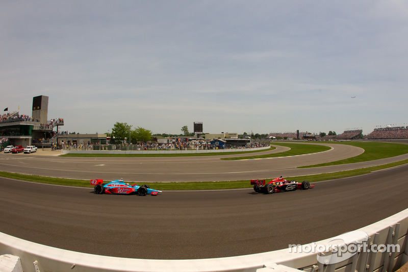 Justin Wilson Indy 500 Race Report