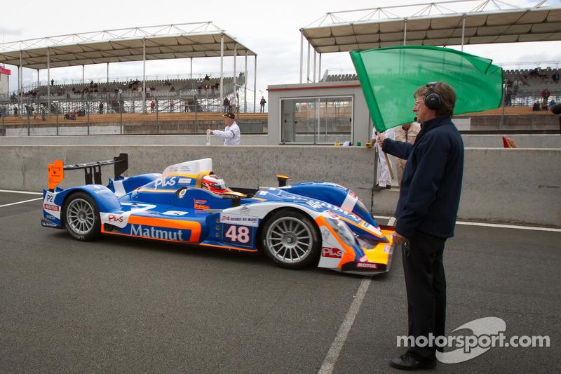 Team ORECA-Matmut P2 Le Mans Wednesday Report