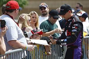 NASCAR Cup Hamlin - Pocono Friday Media Visit
