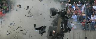 Le Mans McNish Views Big Crash As