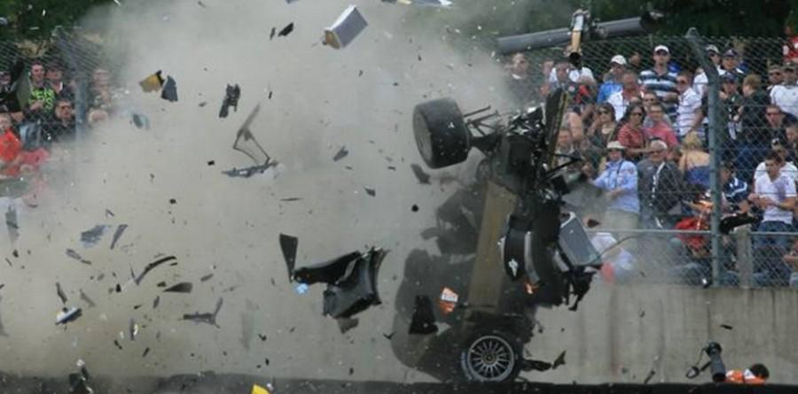 """McNish Views Big Crash As """"Racing Incident"""""""