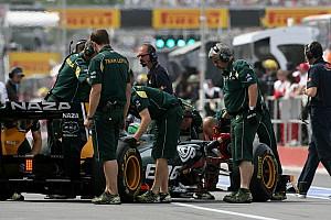Formula 1 Team Lotus Canadian GP Race Report