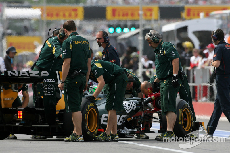 Team Lotus Canadian GP Race Report