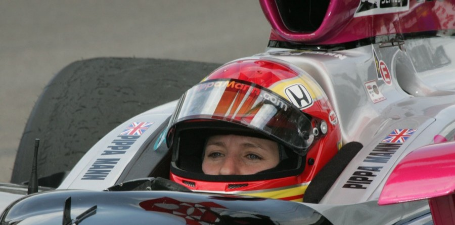 Pippa Mann Takes Rahal Letterman Lanigan Ride