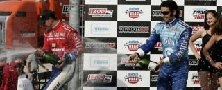 IndyCar Franchitti Swept Milwaukee Mile With The Win