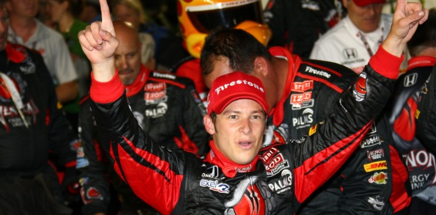 Marco Andretti Earns IndyCar Victory At Iowa Speedway