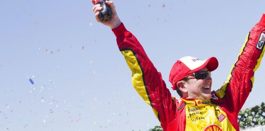 Kurt Busch Claims NASCAR Win At Infineon Raceway