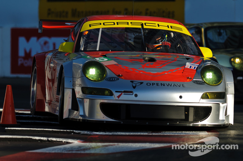 ALMS Series Lime Rock Park News On Flying Lizard, Porsche