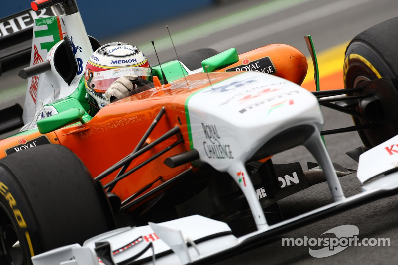 Force India Considered KERS Axe For Silverstone