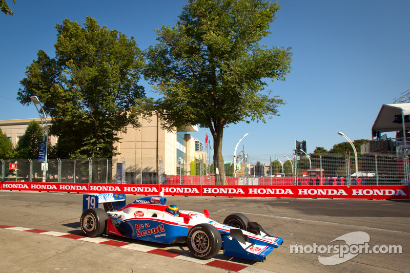 Dale Coyne Racing Toronto Qualifying Report