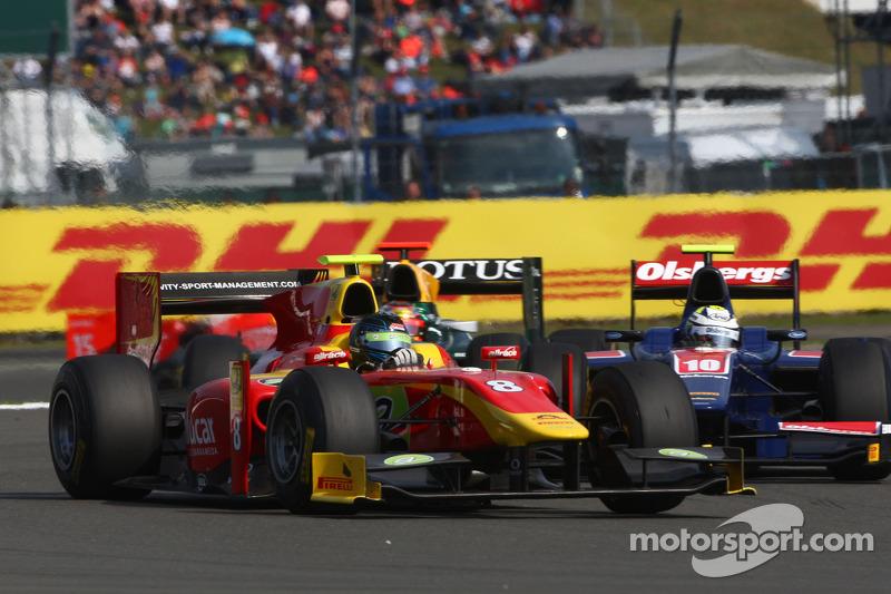 GP2 Series Silverstone Race 1 Press Conference
