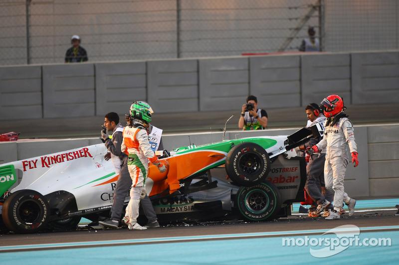 Crashes Due To 'Risks' Not Lack Of Focus - Schumacher