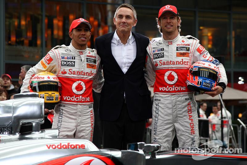 McLaren Drivers Rubbish Whitmarsh Axe Reports