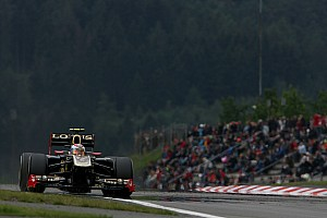 Formula 1 Lotus Renault German GP - Nurburgring Friday Practice Report