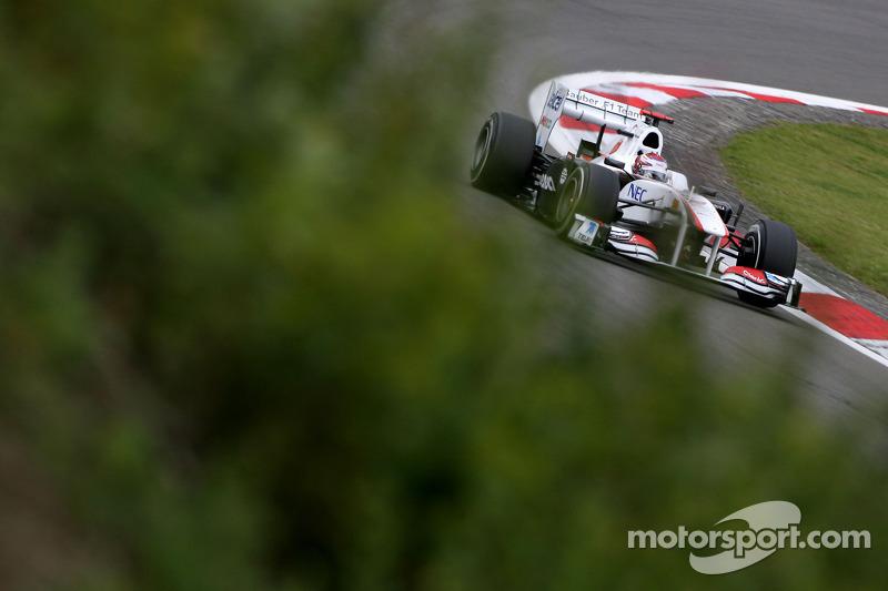Sauber German GP - Nurburgring Qualifying Report