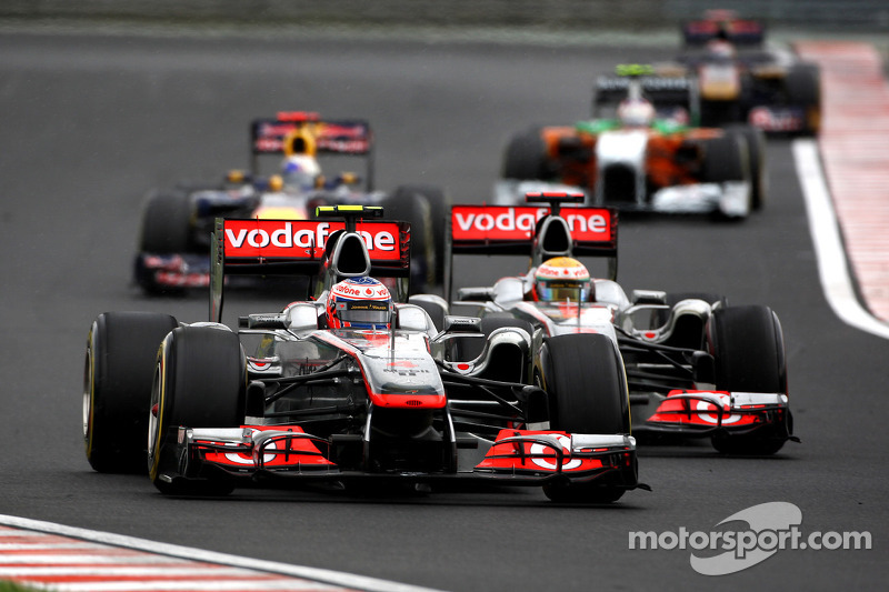 No Team Orders As McLaren Drivers Diced In Hungary