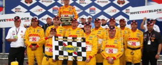 IndyCar Hunter-Reay keeps the New Hampshire victory