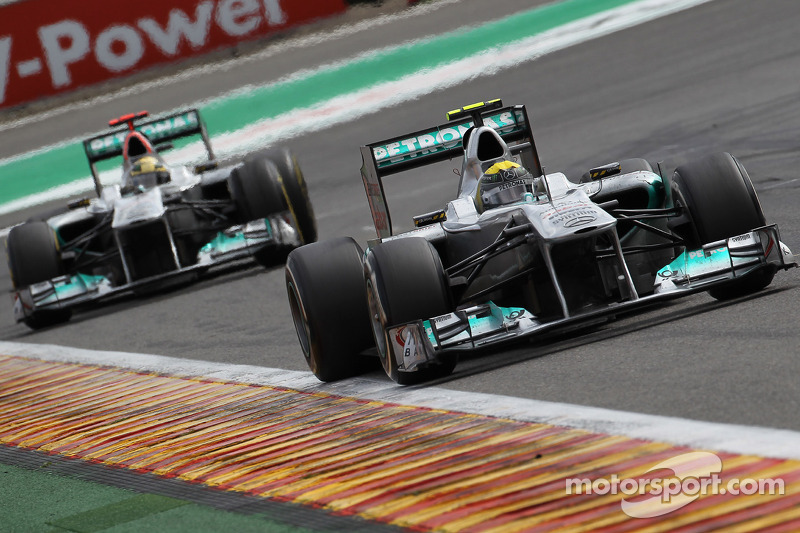 Mercedes Belgian GP - Spa race report