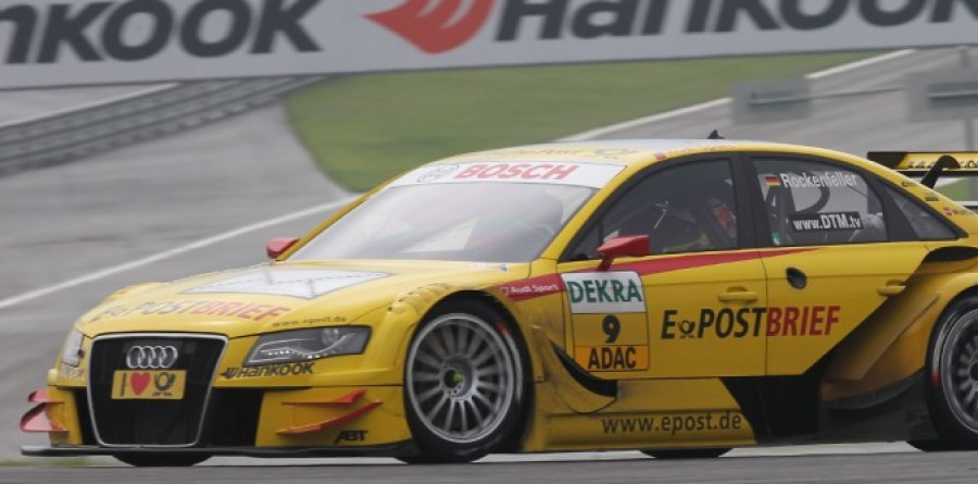 Rockenfeller takes maiden pole at Brands Hatch