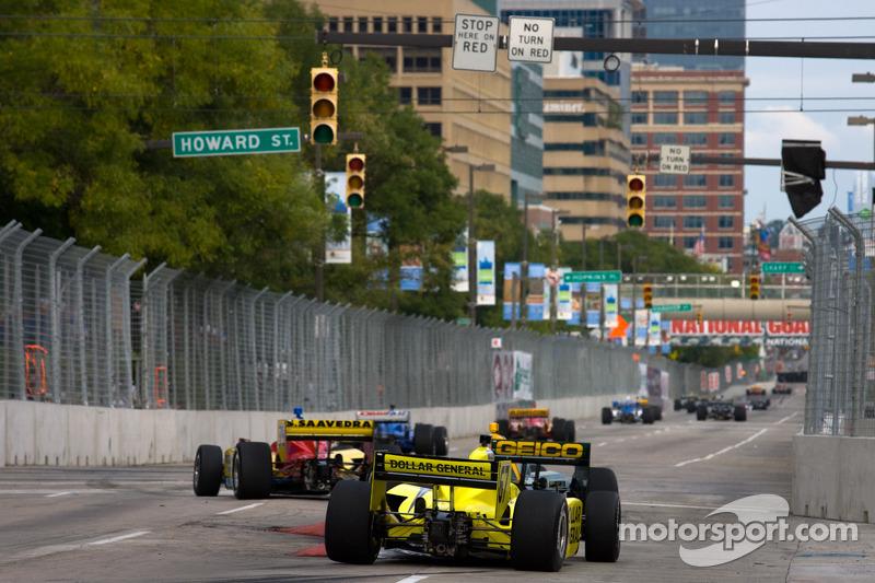 Sarah Fisher Racing Baltimore qualifying report