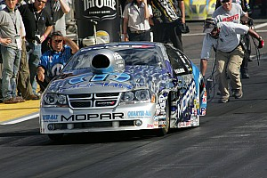 NHRA Allen Johnson Indianapolis Sunday report