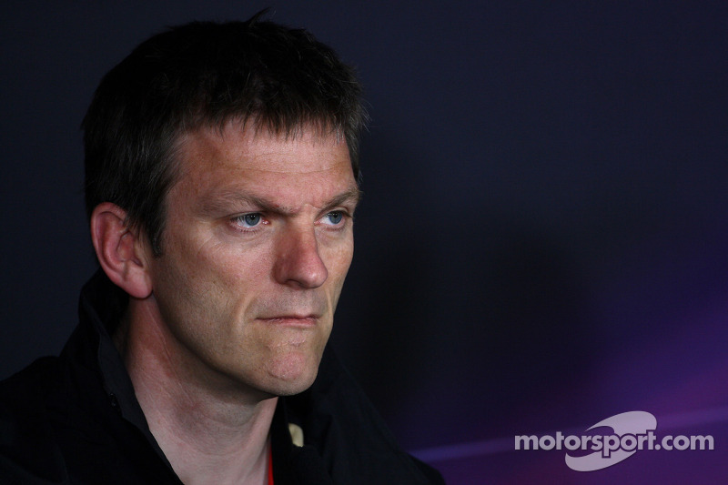 Lotus Renault's James Allison about the Italian GP at Monza