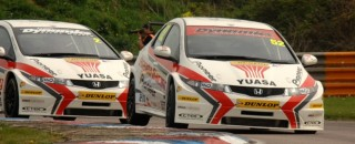 BTCC Honda duo take clear title lead after Knockhill