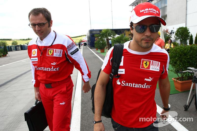 Massa contract 'safe' for 2012 - Domenicali
