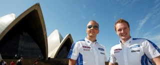 WRC Ford holds early lead in Rally Australia, Citroen crashes