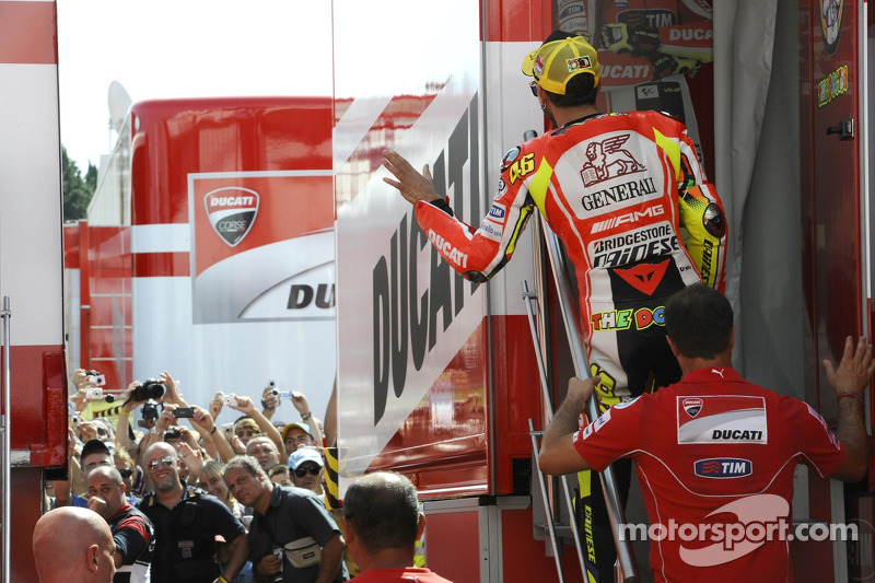 Ducati setup for Aragon GP