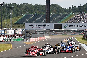 IndyCar Honda Racing Motegi race report