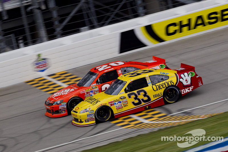 Richard Childress Racing Chicagoland race report