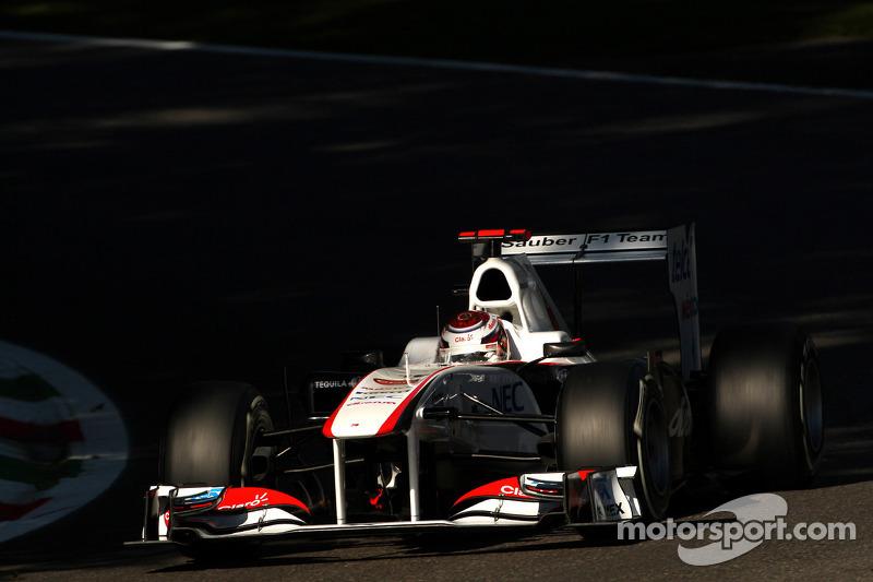 Sauber Singapore GP Friday practice report