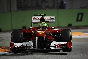 Formula 1 Ferrari Singapore GP race report