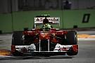 Ferrari Singapore GP race report