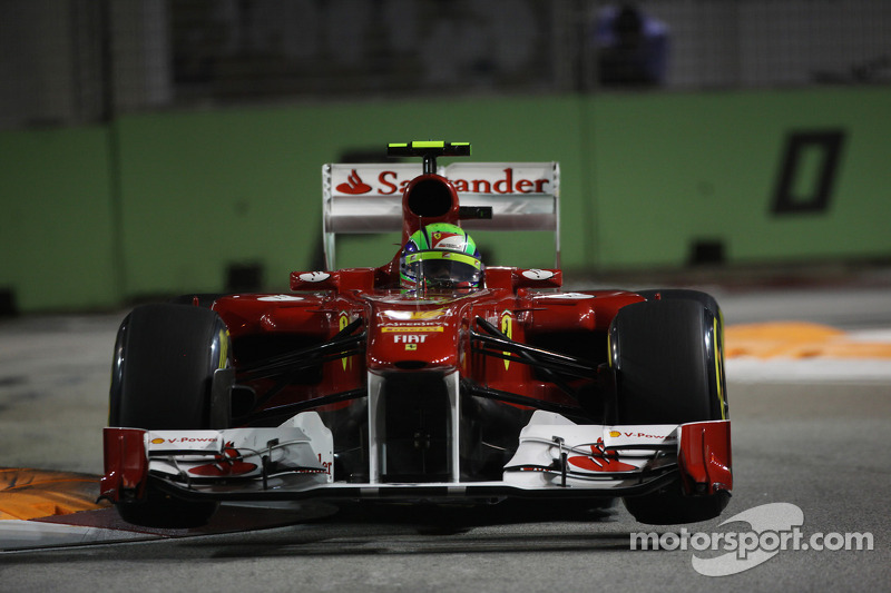 Ferrari Singapore GP race report