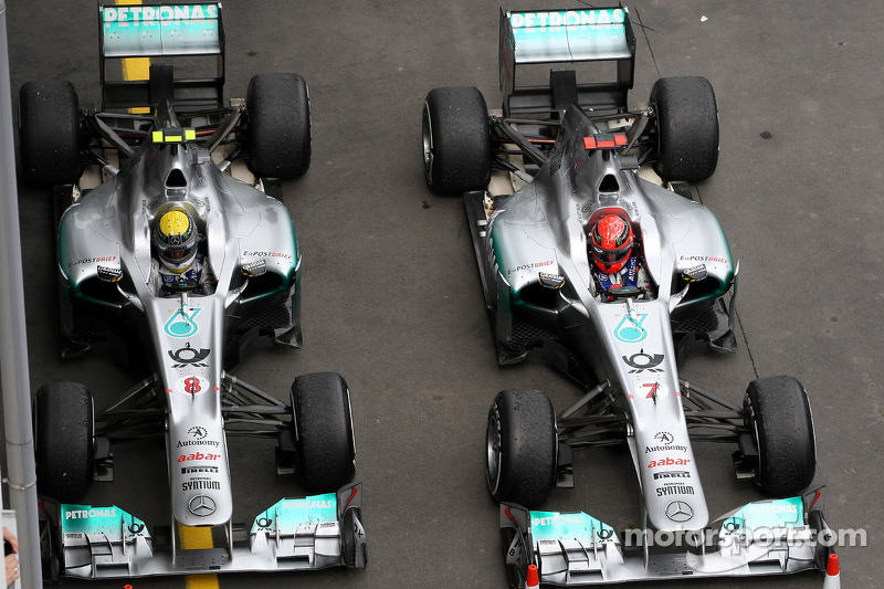Rosberg wants Schumacher to sign up for 2013