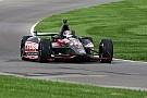 Wheldon begins IMS oval test for 2012 car