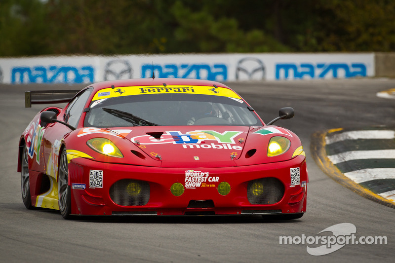 AF Corse Racing Petit Le Mans qualifying report