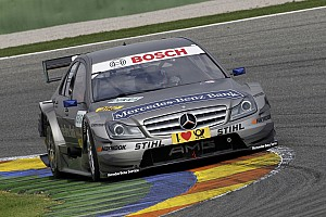 DTM Renger van der Zande and David Coulthard on second row of grid for first time