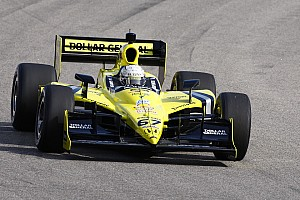 IndyCar Sarah Fisher Racing's Ed Carpenter claims Kentucky victory