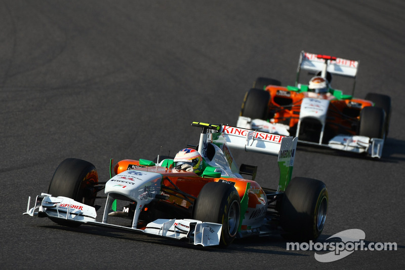 Sutil, Heidfeld hope for F1 seats in 2012