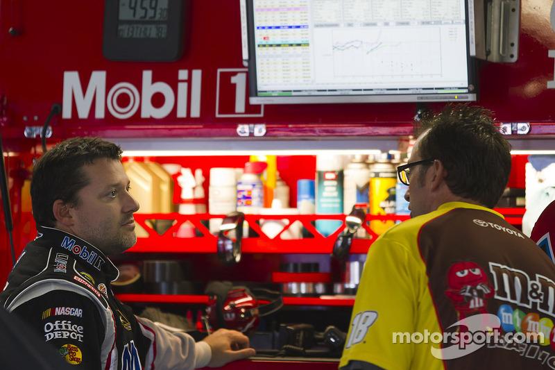 Tony Stewart Charlotte 500 post-qualifying interview
