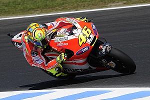 MotoGP Ducati Australian GP Friday practice report