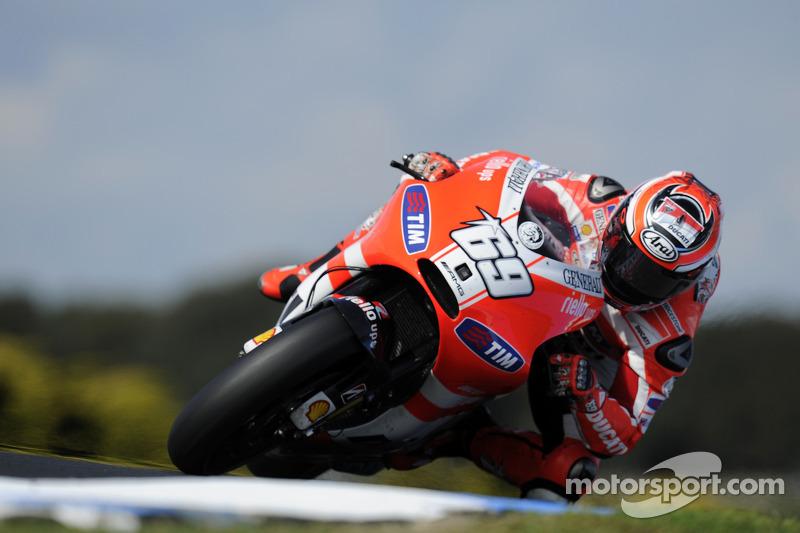 Ducati Australian GP qualifying report