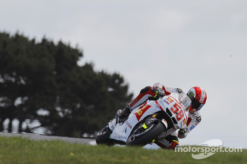 Gresini Racing's Simoncelli Takes Second at Australian GP